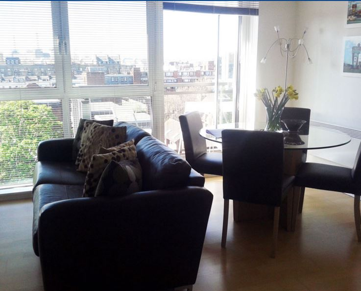 2 Bedroom 2 Bath Vauxhall Bridge Road
