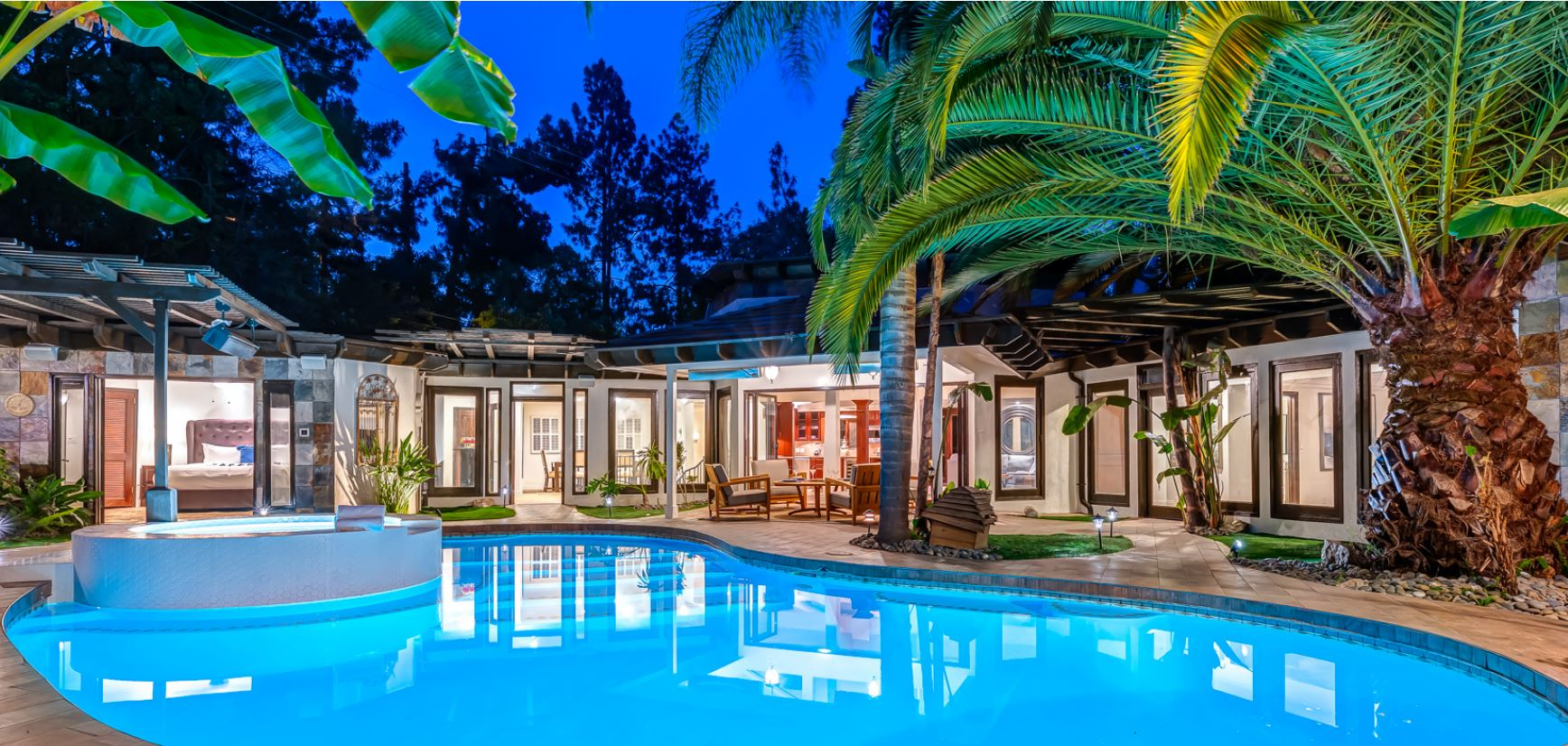 5 Bedroom Hollywood Hills with Pool